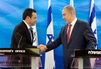 Jimmy Morales Benjamin Netanyahu Guatemala Israel