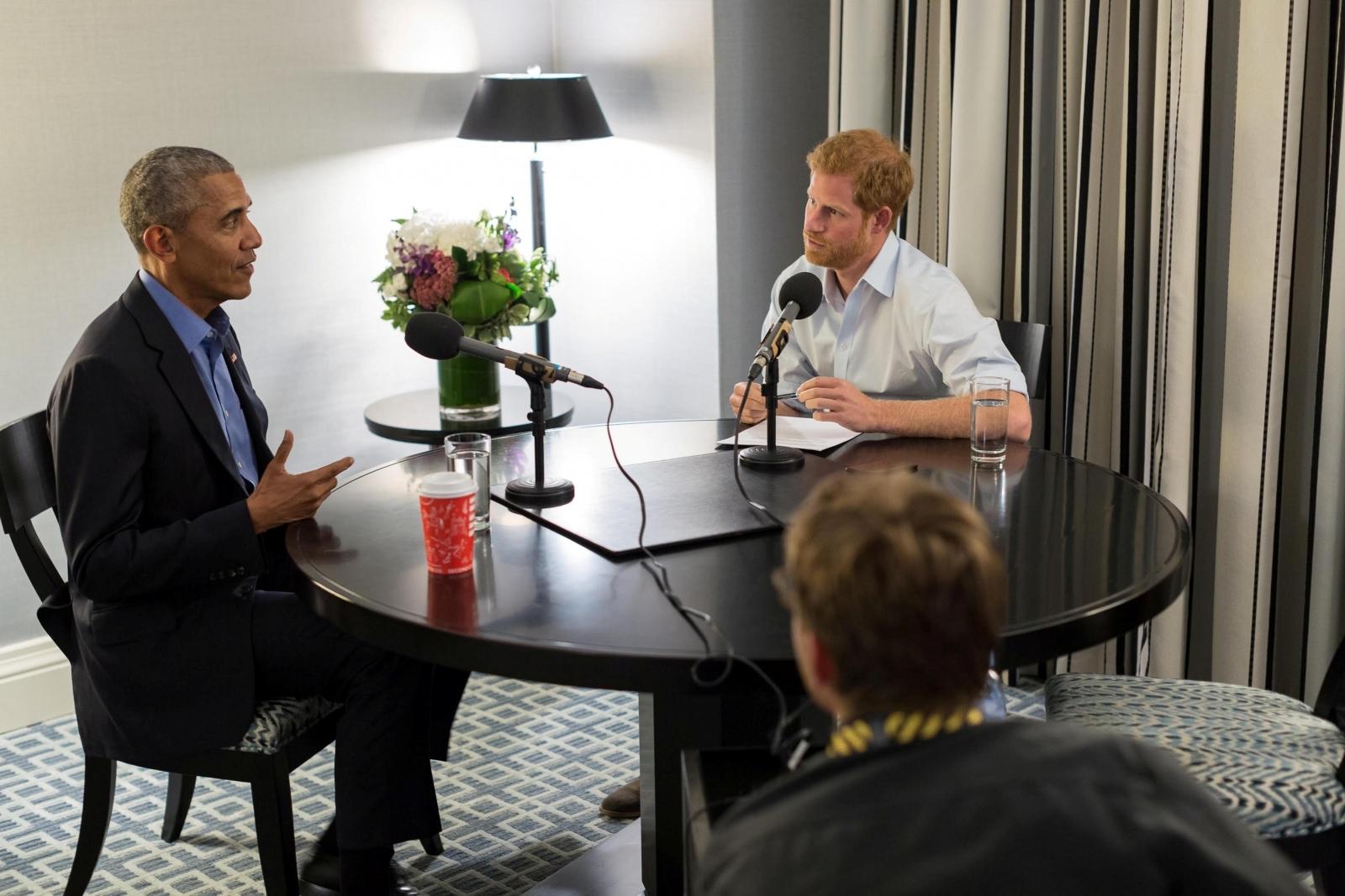 prince harry barack obama