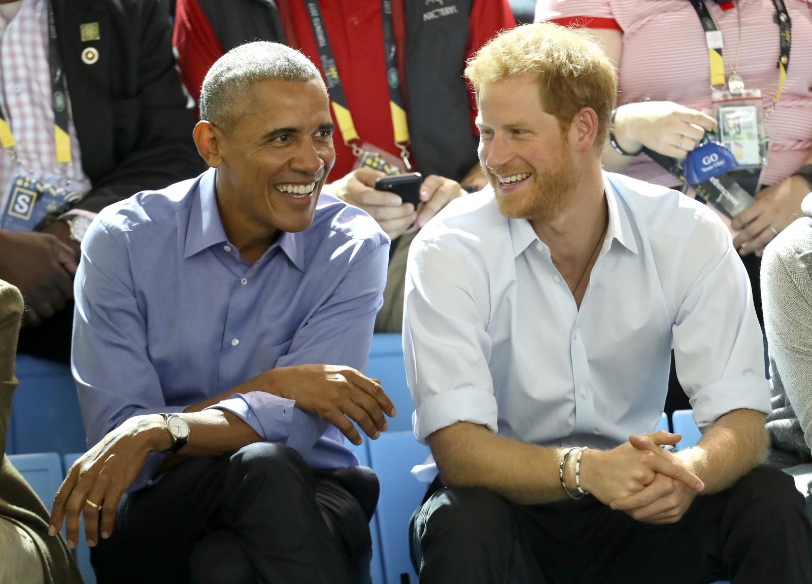 barack obama prince harry