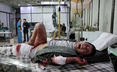 Syria ghouta children cancer