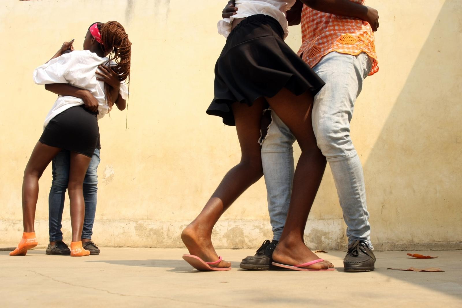 People dancing Kizomba