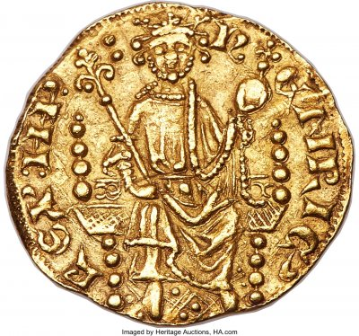 Britains first gold penny minted almost 800 years ago could sell henry iii 1216 1272 gold penny of 20 pence nd c publicscrutiny Images