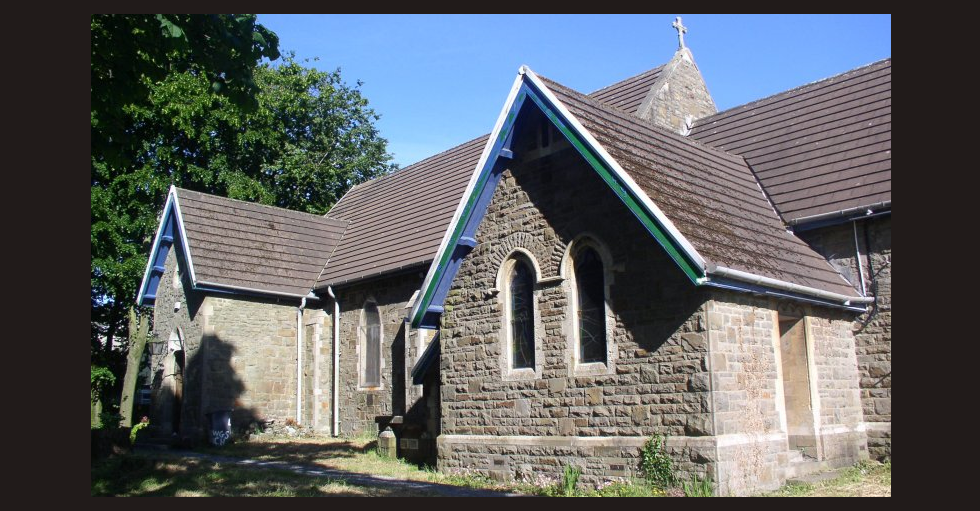 St Lleurwg's Church in Hirwaun village, south Wales, was burgled on Christmas Day