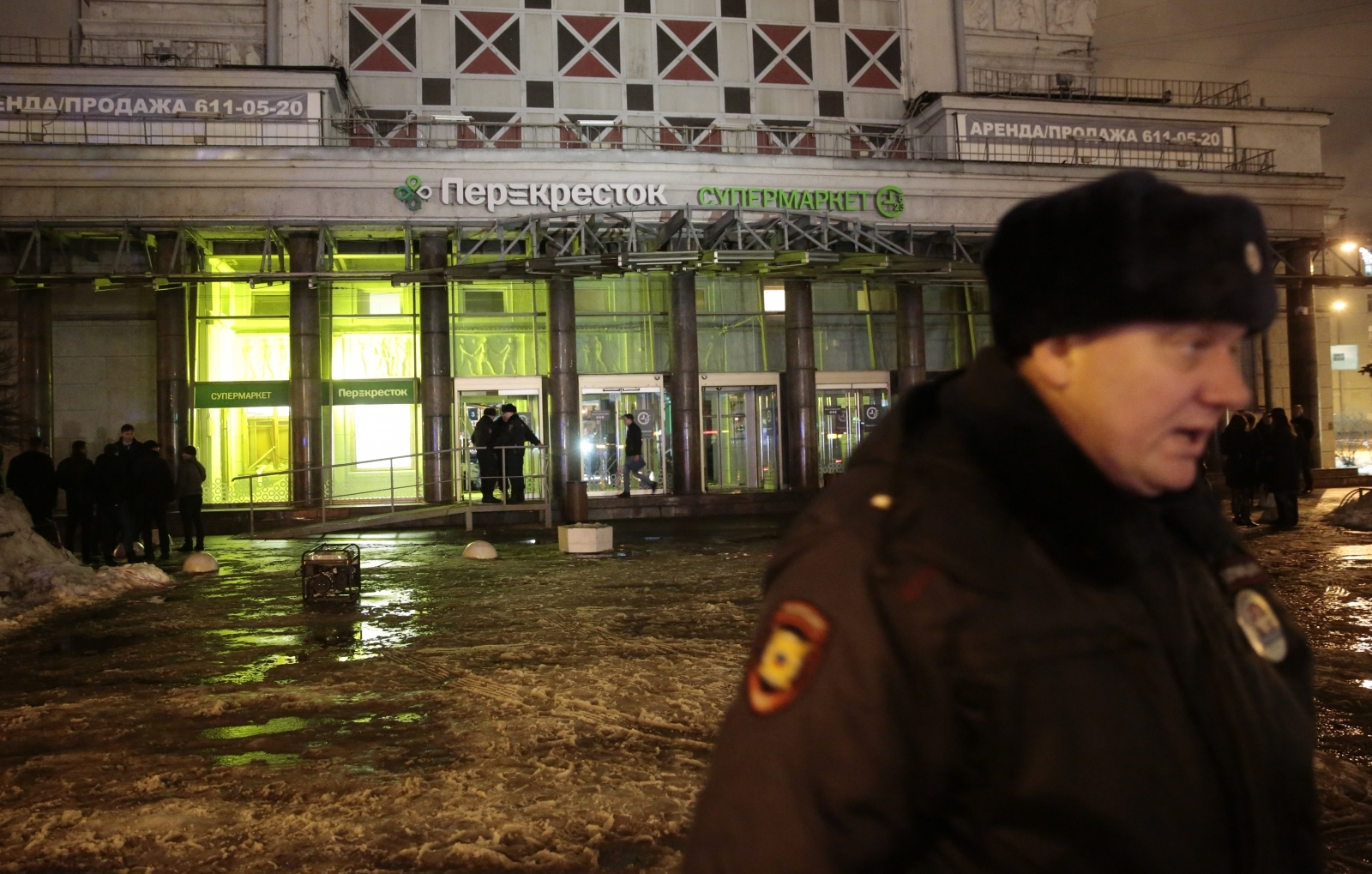 Blast in Russia's Saint Petersburg injures four