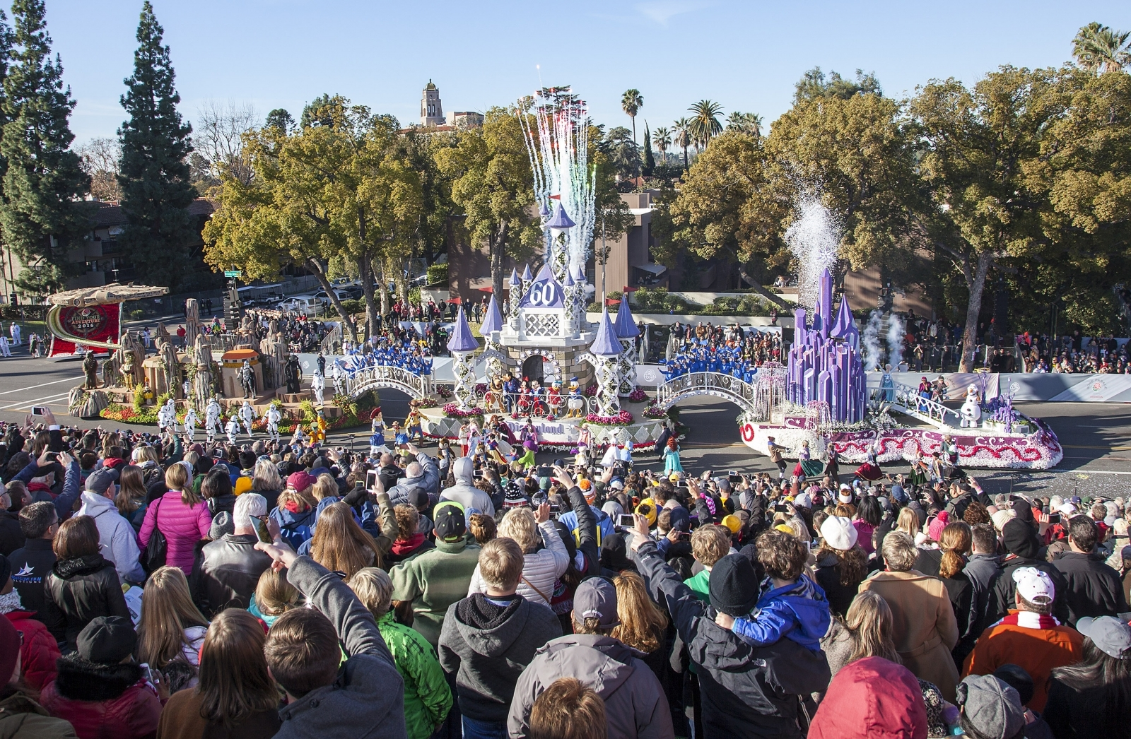 Power Outage Forces Shut Down of Some Disneyland Rides