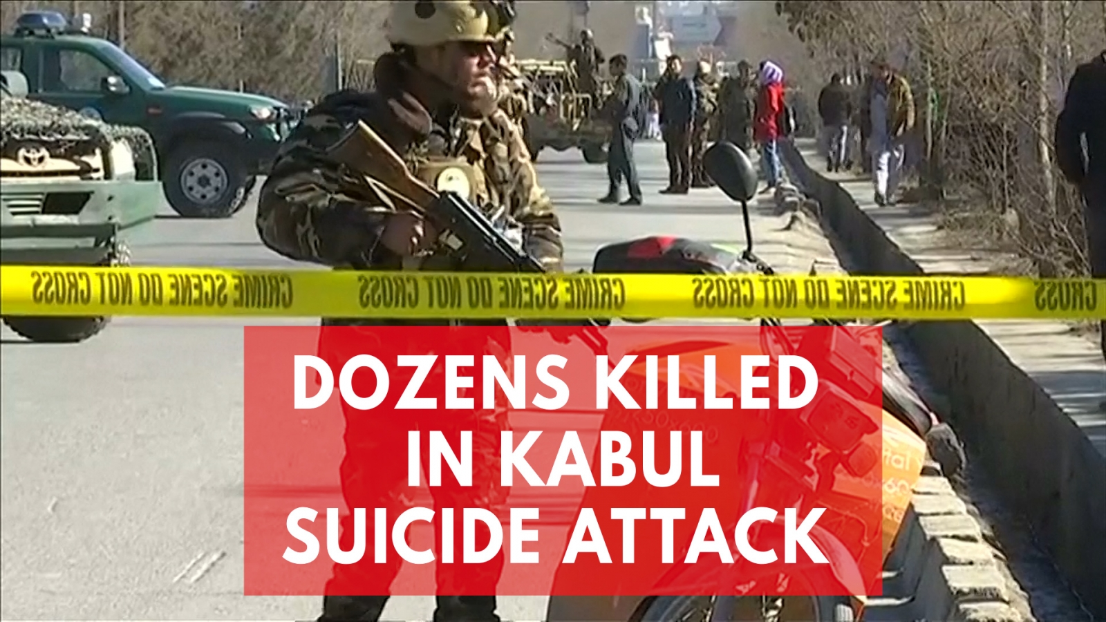 Dozens Killed As Blast Rips Through Afghan News Agency And Shia Centre In Kabul