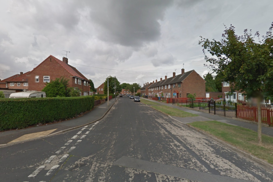 A man died after being found on fire in the middle of Thanet Road, Hull