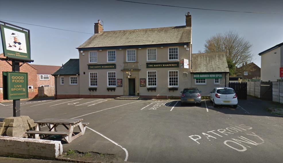 The Happy Wanderer pub