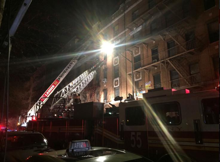 New York Bronx fire
