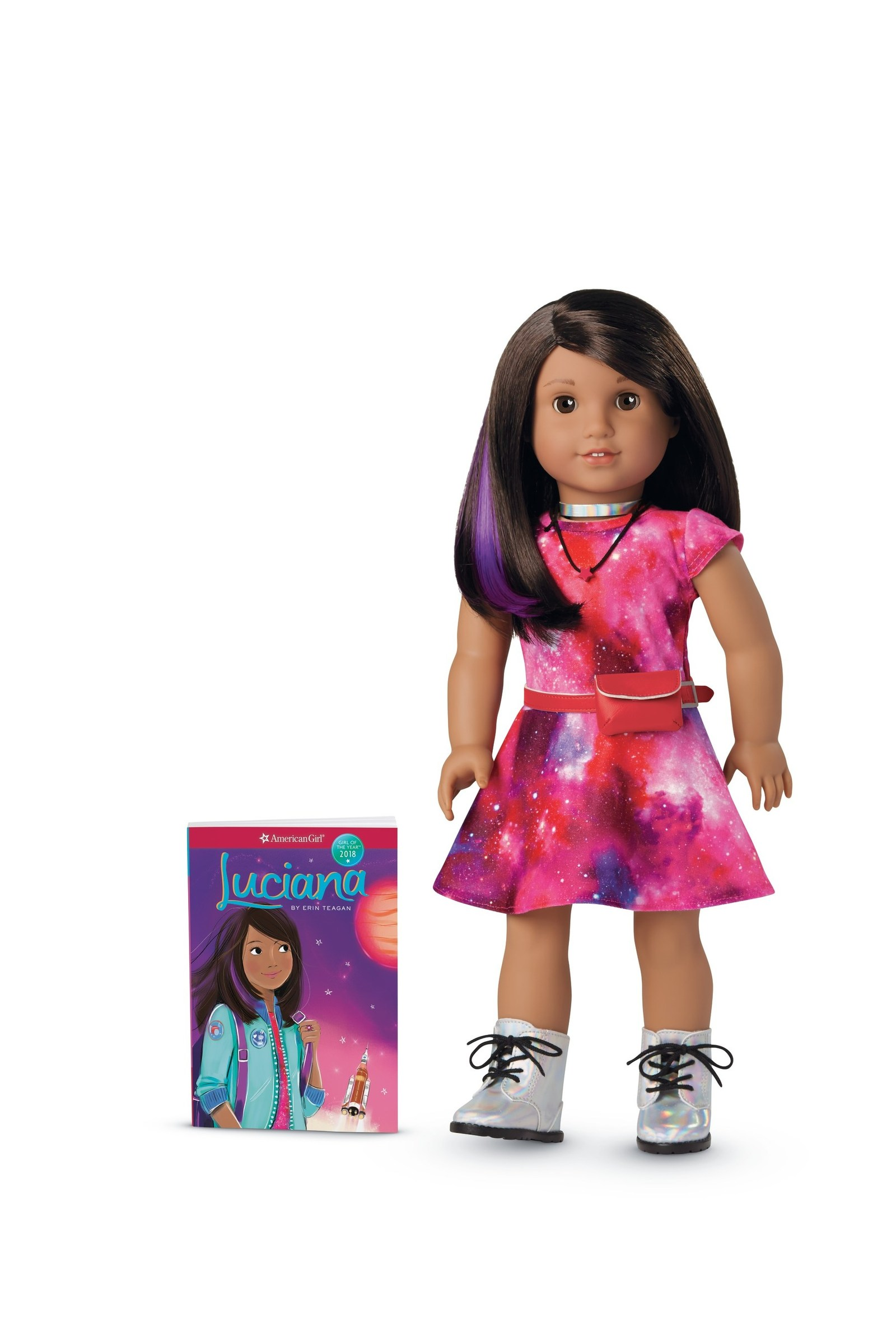 Who Is Luciana Vega Nasa Helps Develop American Girl Doll