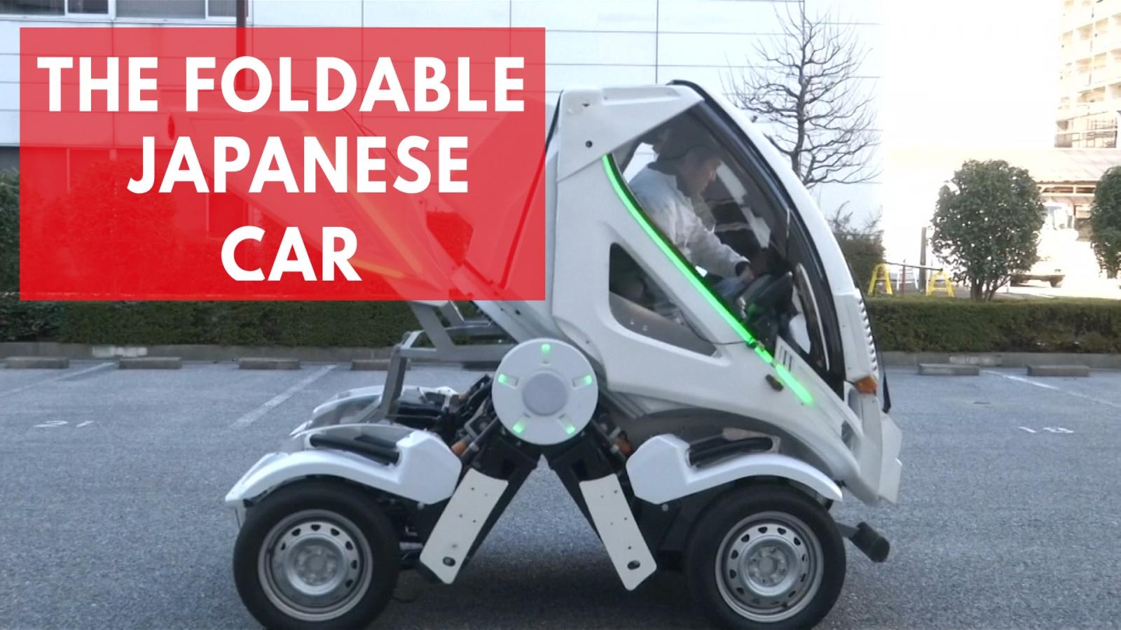 The Foldable Japanese Car: 'Earth-1'