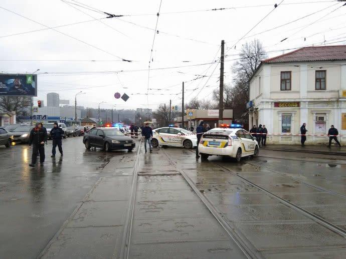 Ukraine post office hostages