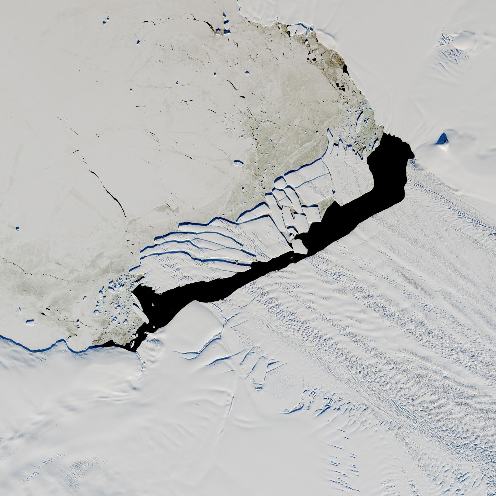 Nasa iceberg