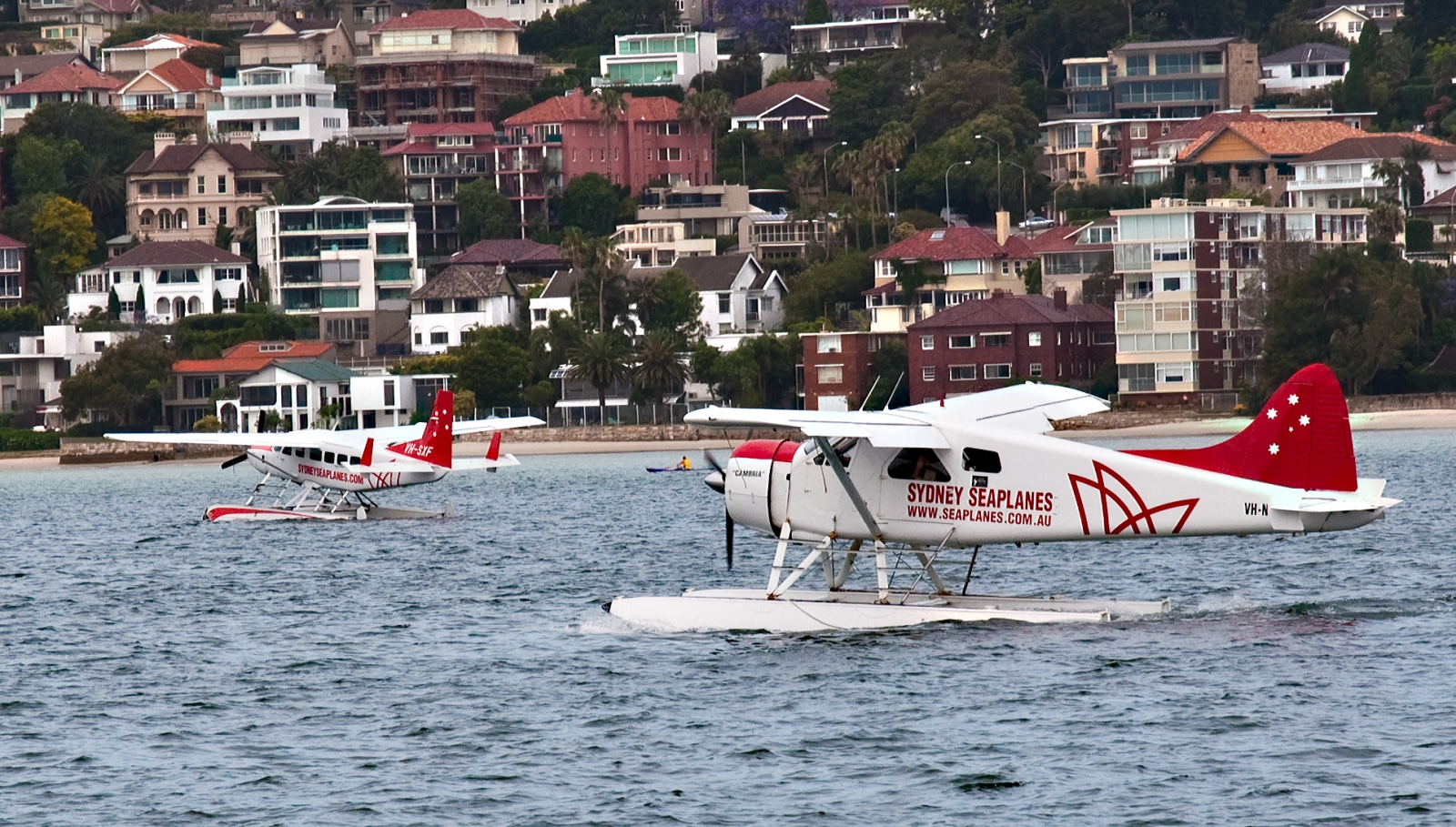 Compass CEO, 5 others die in seaplane crash in Sydney