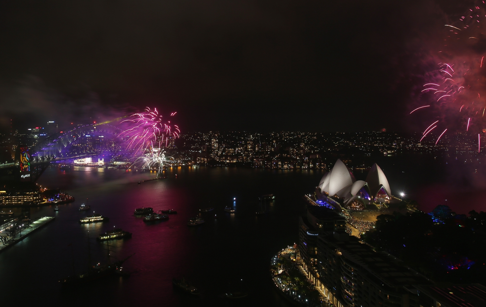 New Year's Eve fireworks rescheduled