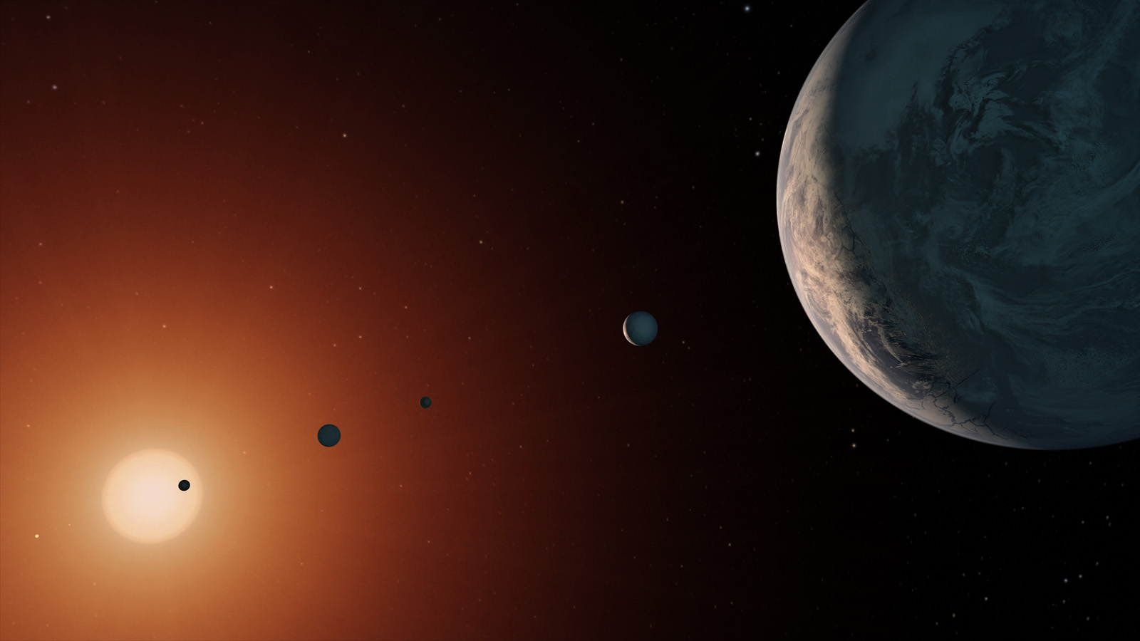 Can Trappist 1 Host Alien Life Two Planets Of The Distant