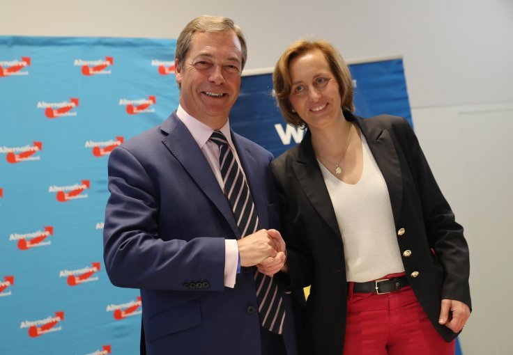 Nigel Farage, Beatrix von Storch