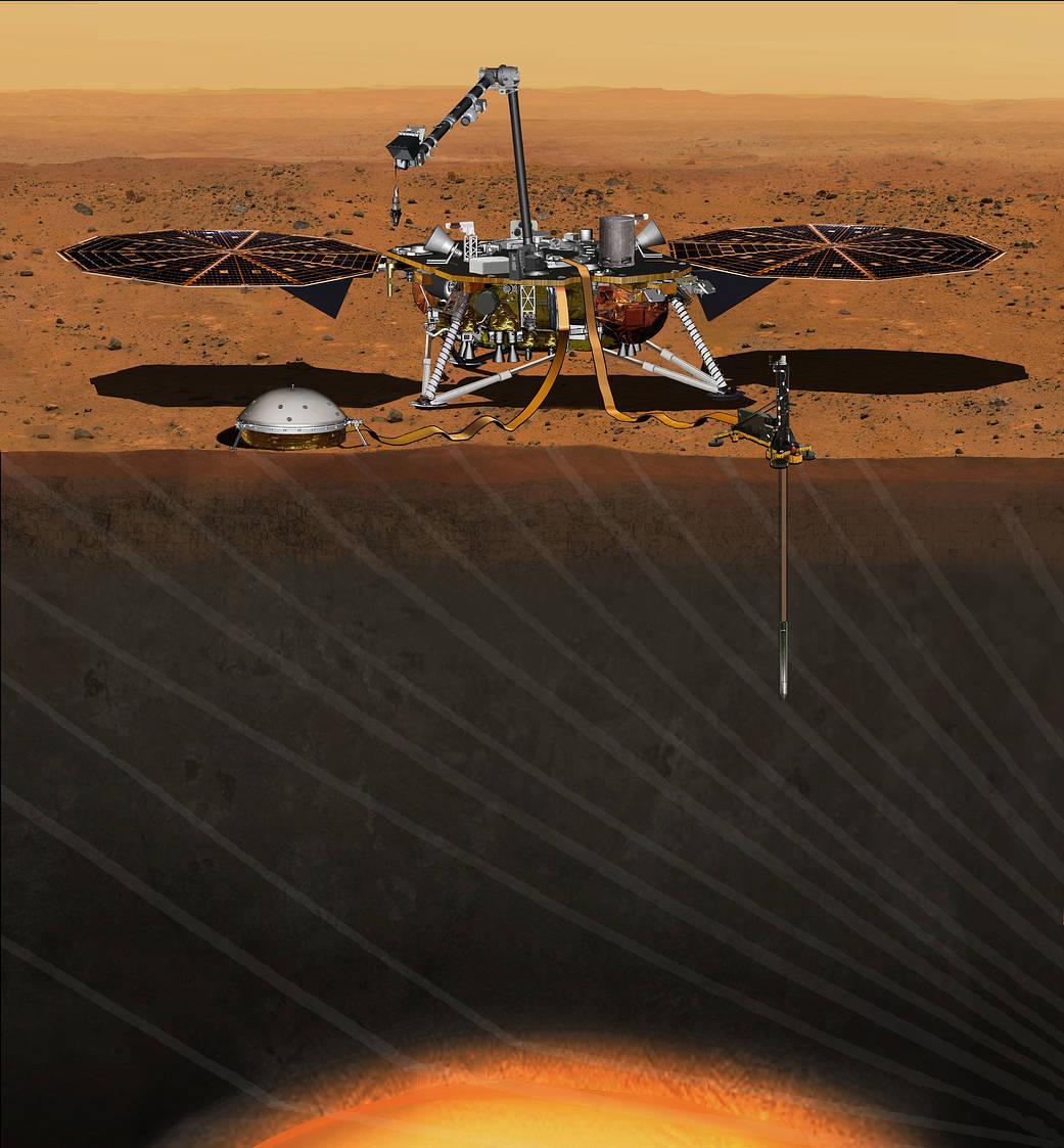 InSight Mars Robot