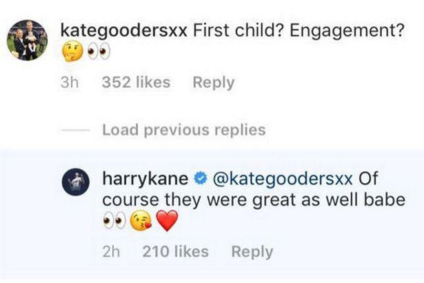 Harry Kane fiancée