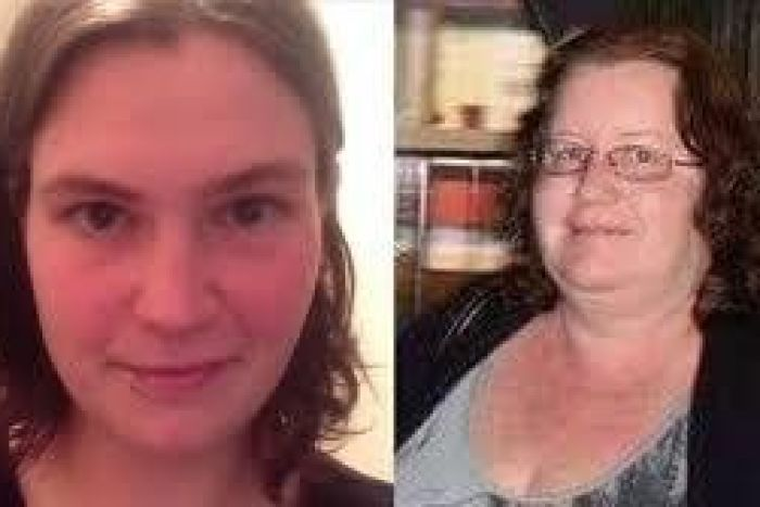 Jemma Lilley (l) and Trudi Lenon who were convicted of killing an autistic teenager for the thrill of it