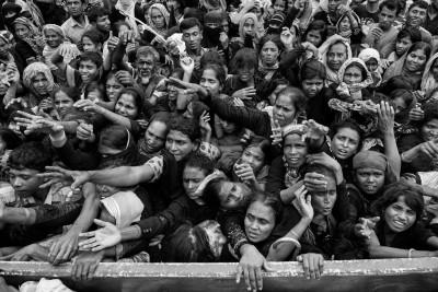 Rohingya Muslim refugees Myanmar Bangladesh