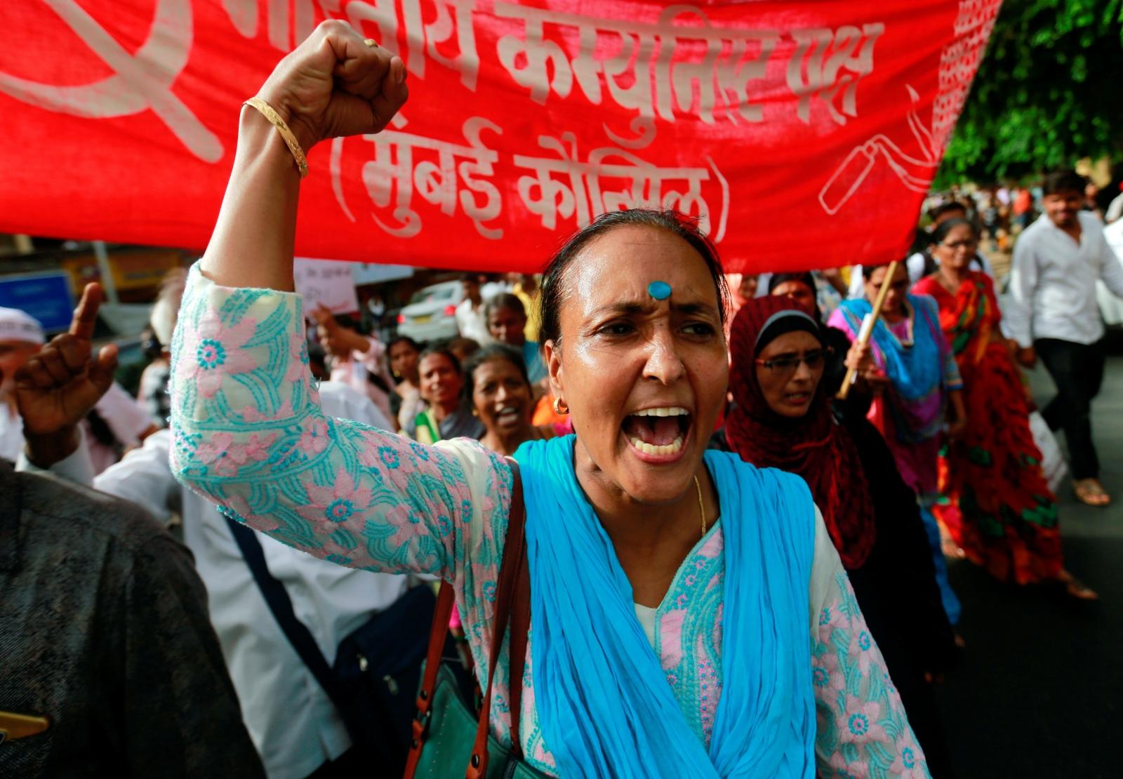 Muslim protest India