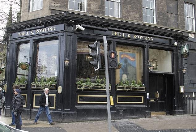 JK Rowling pub