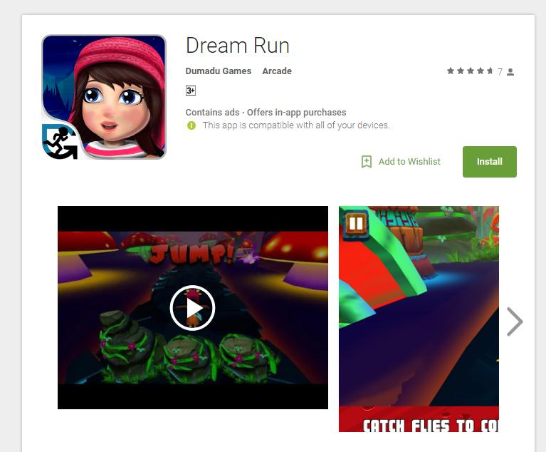 Dream Run app