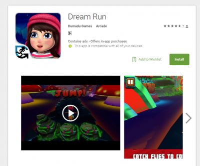 Dream Run app