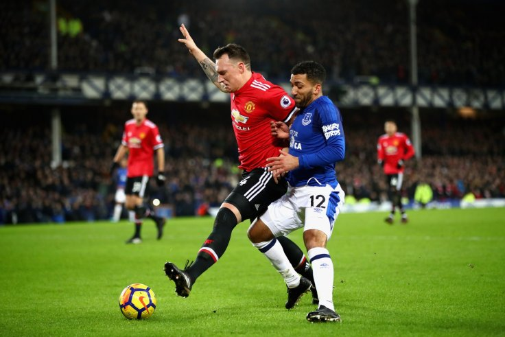 Phil Jones and Aaron Lennon
