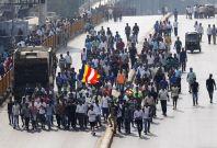 India Mumbai Dalit protests
