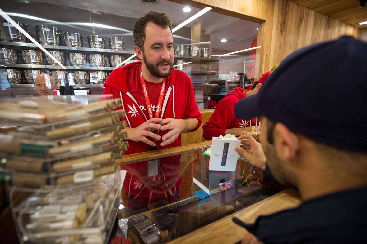California legalises recreational marijuana
