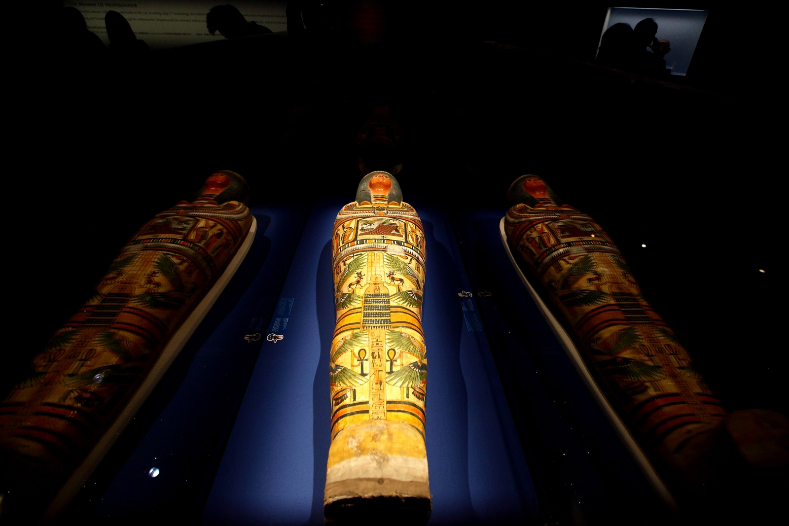 Ancient mummy box