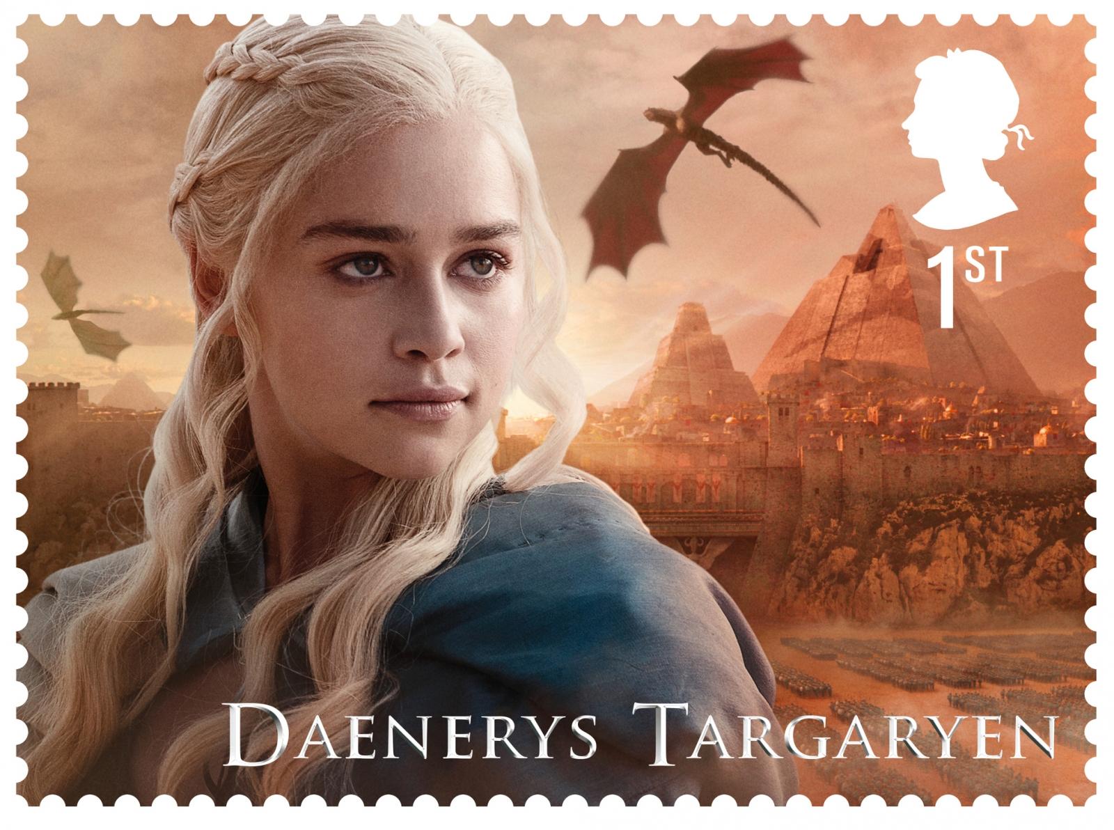 Daenerys Stamp