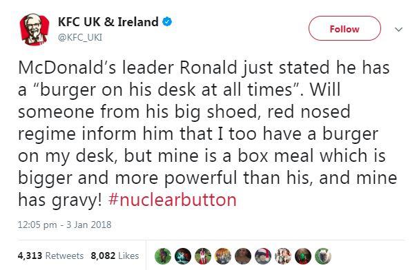 KFC Donald Trump