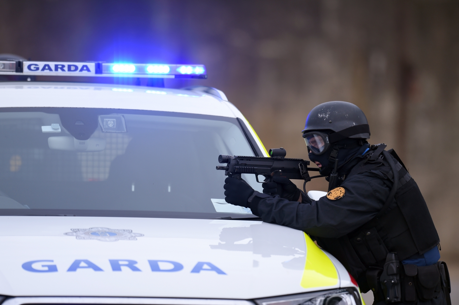 The Garda have arrested a heavily-armed 18-year-old man, believed to be Egyptian, after a series of attacks in Dundalk