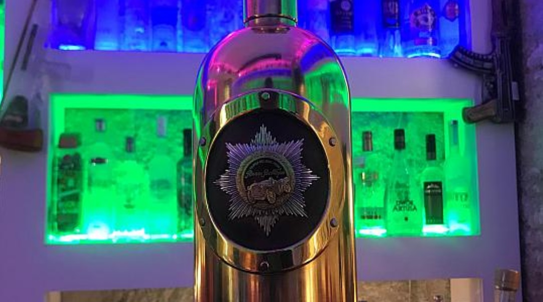 Thief steals world's most expensive vodka bottle