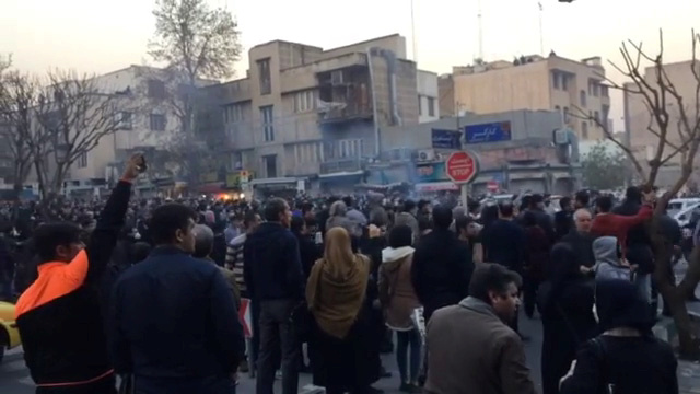 Iran: Trump's Tweets Are Inciting Protests