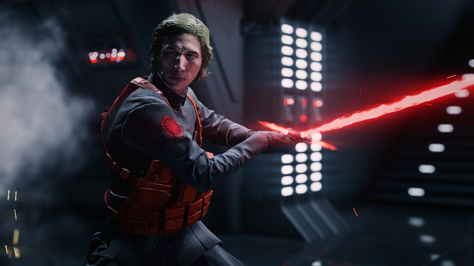 Pink Darth Vader is Now In Star Wars: Battlefront 2 Mod