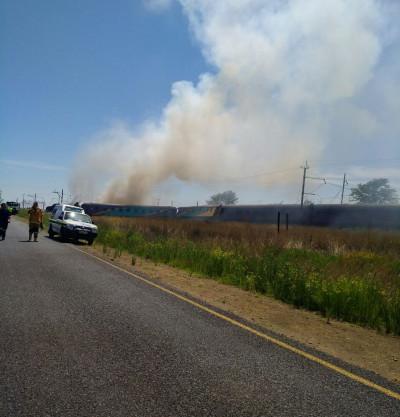 South Africa train crash