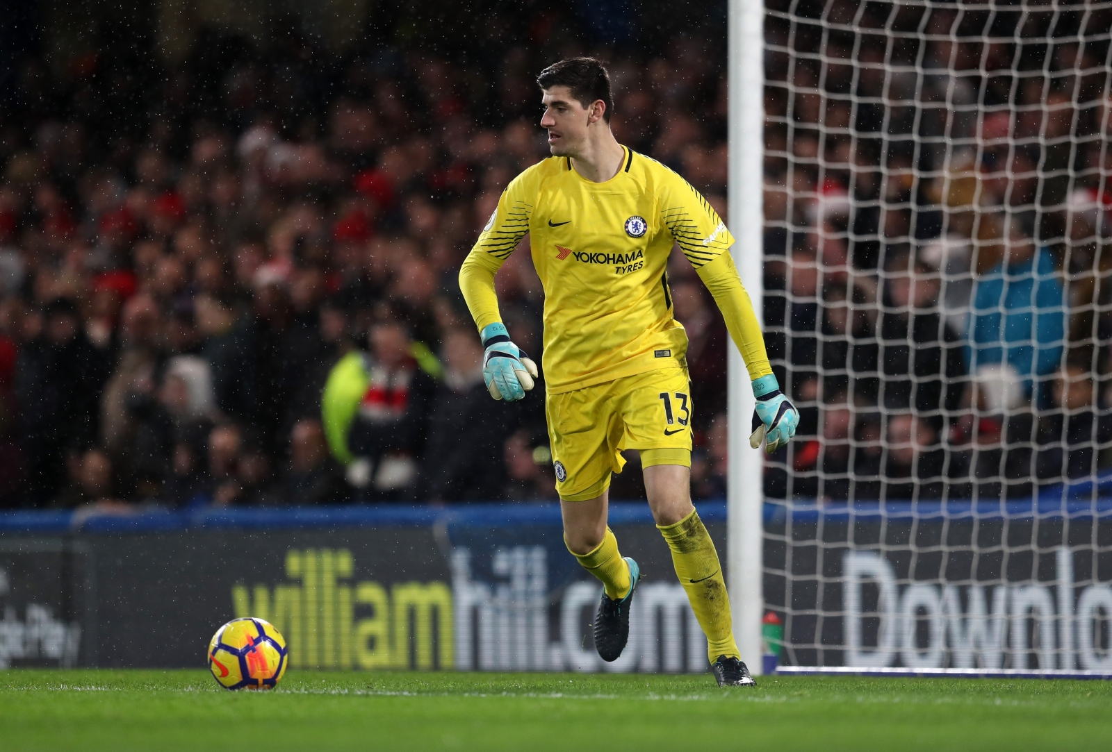 Hazard and Courtois to renew their contracts with Chelsea