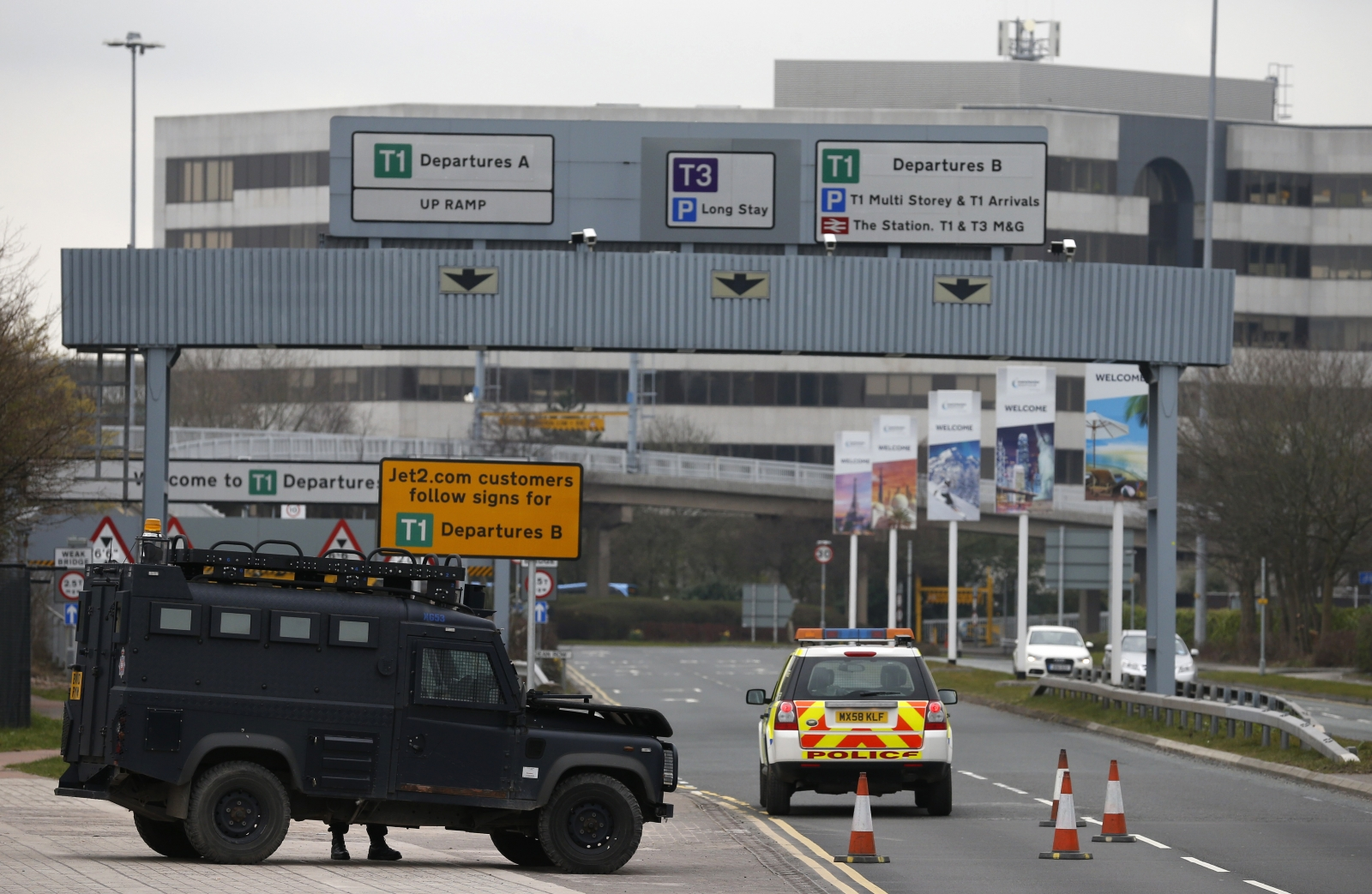 Manchester Airport Terminal  Long Stay Car Park