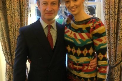 Henry Bolton and Jo Marney