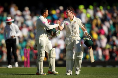 Usman Khawaja-Steven Smith