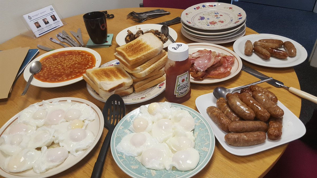 English breakfast fry-up
