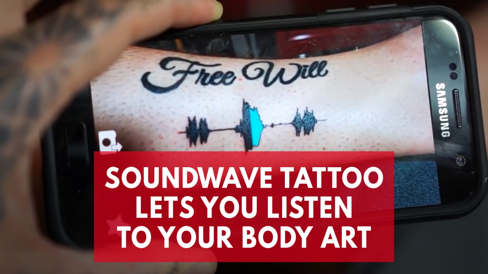 You Can Now Have Your Favorite Sounds Tattooed On You
