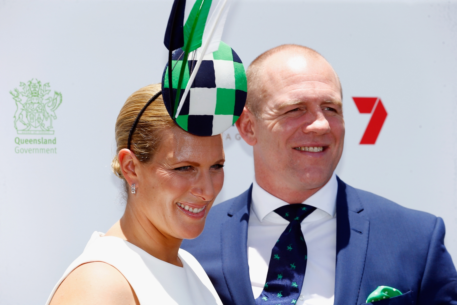Zara Phillips and Mike Tindall