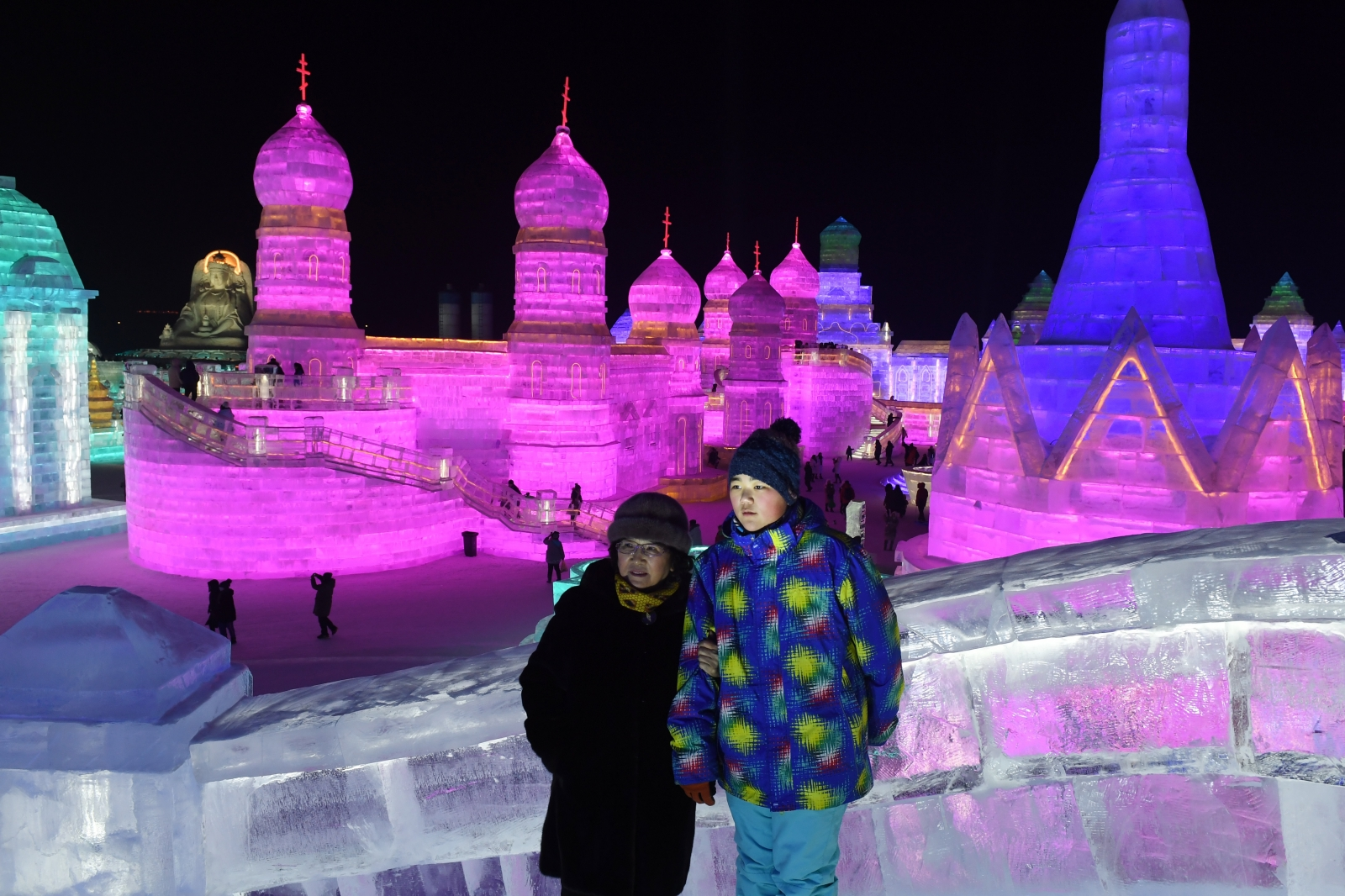 Harbin ice snow sculpture festival