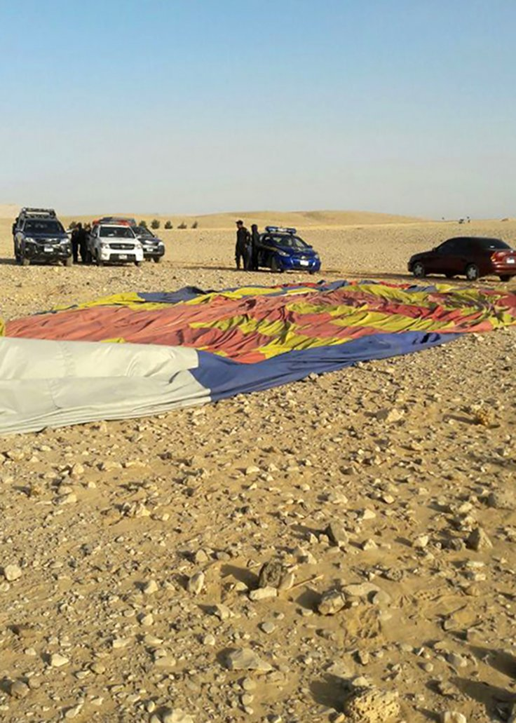 hot air balloon Egypt