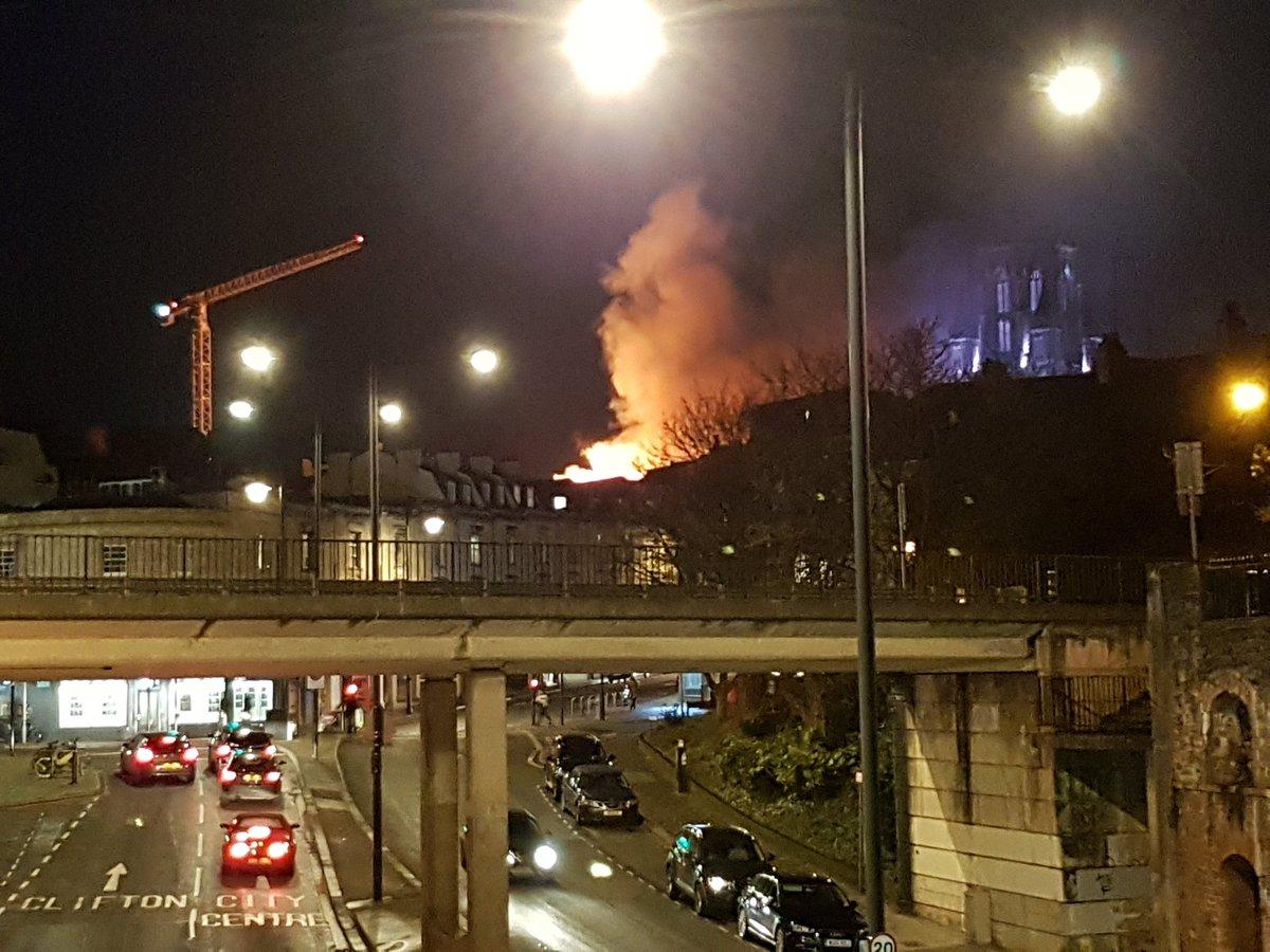 Bristol University Fire